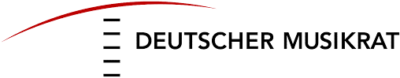 Logo / Text: deutscher Musikrat